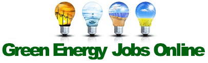 Green Energy Jobs Online | Environmental Jobs in the Green Energy Industry logo